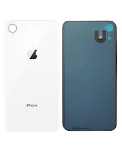 iPhone XR Back Glass White/Silver
