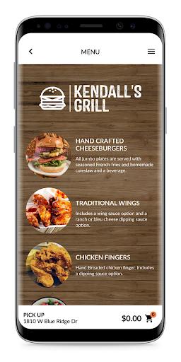 kendall's grill screenshot 2
