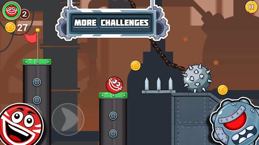 Bounce Ball 4 Love and Red Roller Ball 3 - Ball 4 screenshot 6
