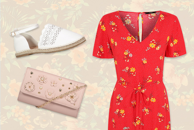 Jumpsuits and floral dresses are infinitely versatile. Life & Style share a fresh take on how you can style yours for all occasions this summer