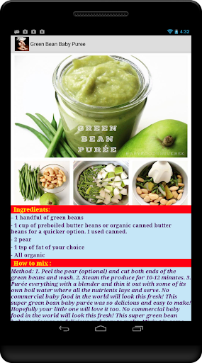 Download baby food recipes free google play softwares baby food recipes free forumfinder Image collections