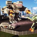 Futuristic Robot Car Wars 2017 icon