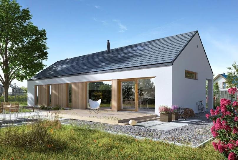 Projekt domu Ekonomiczny 2T