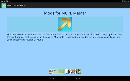 Mods for MCPE Master