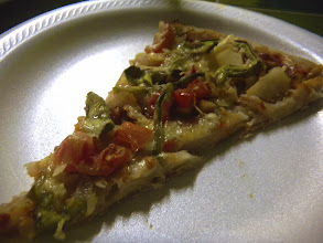Photo: With amazing pizza!