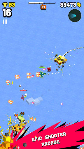 Wingy Shooters - Epic Battle in the Skies apkpoly screenshots 13