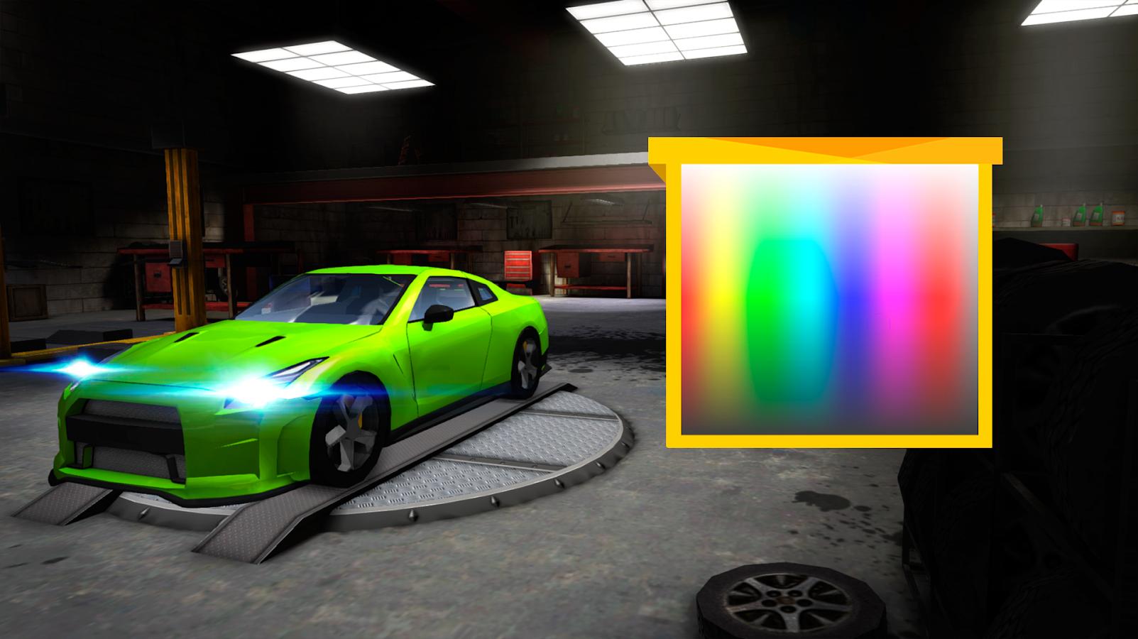 extreme sports car driving 3d screenshot