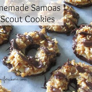 Homemade Samoas.