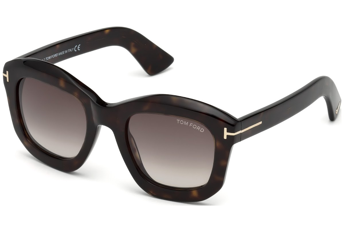c82f908315 Comprar Gafas de sol Tom Ford Julia-02 FT0582 C50 52J (dark havana /  roviex) | Blickers