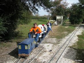 Photo: Joseph, Michael, Logan, and their Grandma Monterey White.   2009-1127 HALS Anniversary Meet