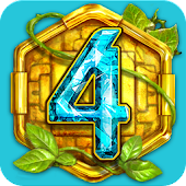The Treasures Of Montezuma 4.  Match-3 Game