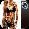 Tattoo Photo Editor Studio (1500+ Tattoo Designs) icon
