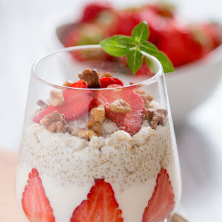 Quinoa and Strawberry Parfait Recipe