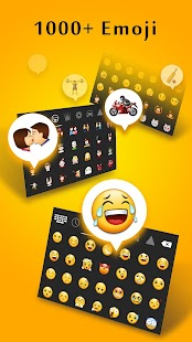 Galaxy Emoji Keyboard - náhled
