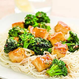 Tofu & Broccoli Stir-Fry.