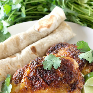 Mexican-Spiced Chicken Thighs.