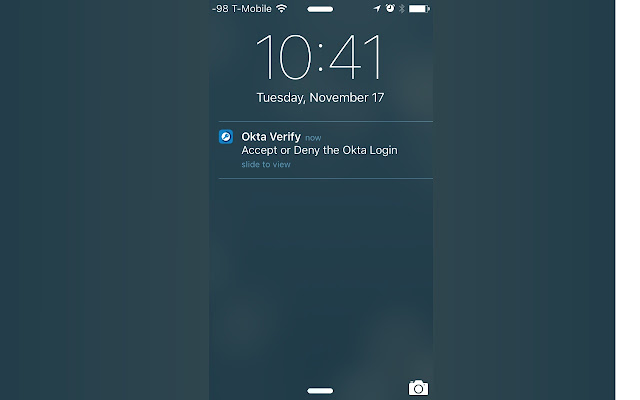 Okta Verify Auto Send