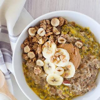 Sunny Spelt + Oat Passion Fruit Porridge Recipe