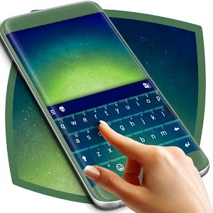 Green Gradient Keyboard Theme APK Download for Android