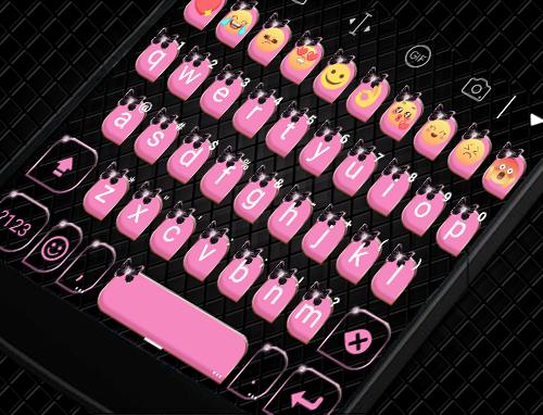 玩免費遊戲APP|下載Pink Bow Knot Gifs Keyboard app不用錢|硬是要APP