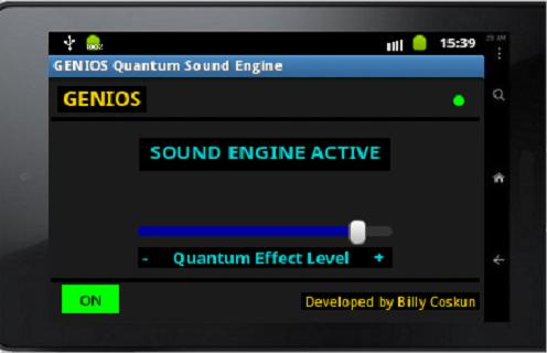 android Genios Quantum Sound Engine Screenshot 3