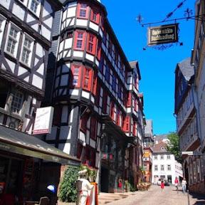 【世界の街角】メルヘン街道の町マールブルクでおとぎの国の世界へタイムスリップ