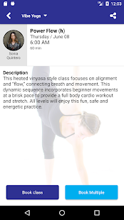 Vibe Yoga App- screenshot thumbnail