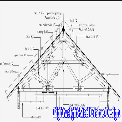 Lightweight Steel Frame Design