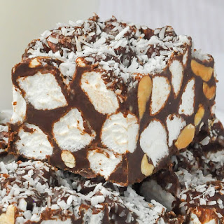 Rocky Road Peanut Butter Marshmallow Squares Recipes