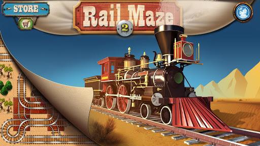 Rail Maze 2 : Train puzzler  gameplay | by HackJr.Pw 6