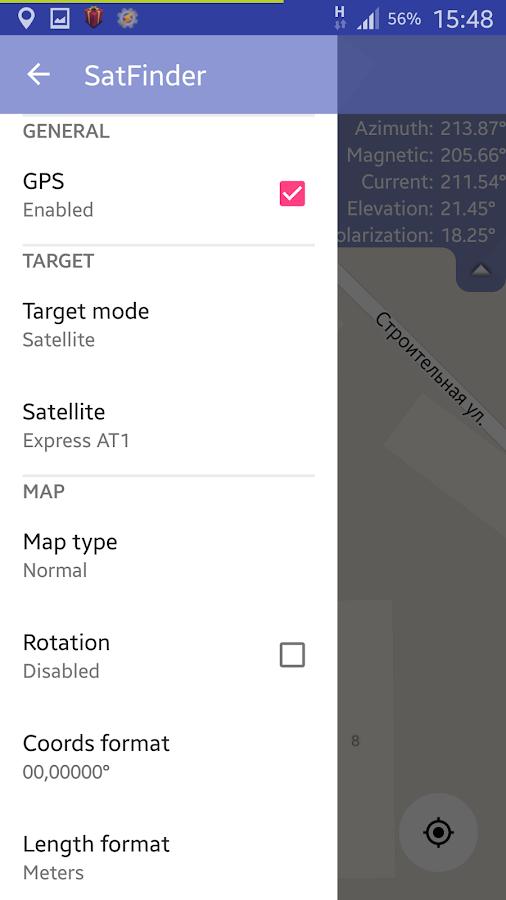 SatFinder- screenshot