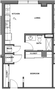 Go to Studio Floorplan page.