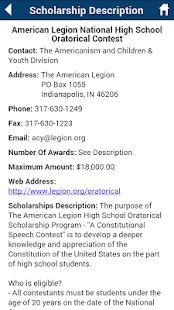 Scholarships.com- screenshot thumbnail