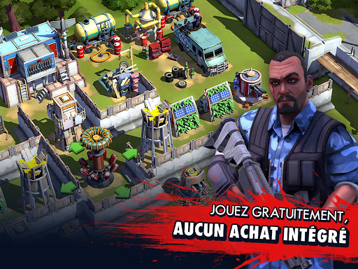 Zombie Anarchy: Survival Strategy Game APK MOD – ressources Illimitées (Astuce) screenshots hack proof 1