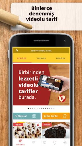 Bizim Tarifler - Denenmiu015f Videolu Yemek Tarifleri 1.0.5 screenshots 2