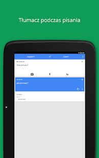 Tłumacz Google – miniaturka zrzutu ekranu