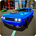 Mustang Dodge Charger: City Car Driving & Stunts icon