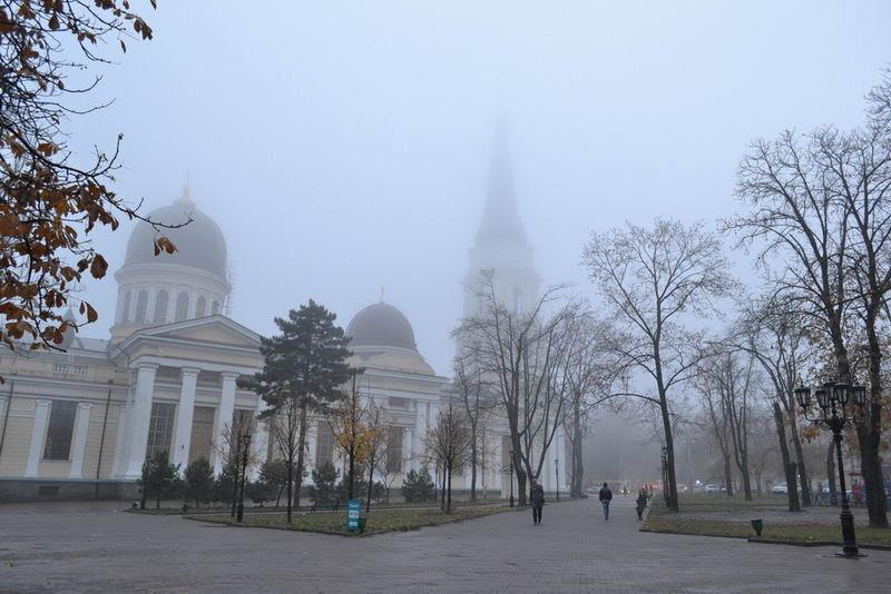 Туманная Соборная площадь