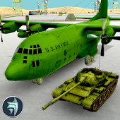 US Army Transport Plane : Heavy Duty Transport