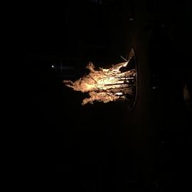 Fire in shape by Som Nath - City,  Street & Park  Street Scenes