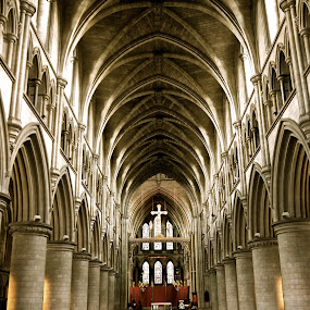 St John's Baptist church by Cristiana Chivarria - Buildings & Architecture Places of Worship ( norwich, church, st john's baptist )