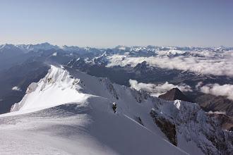 Photo: Widok z Mt Blanc.
