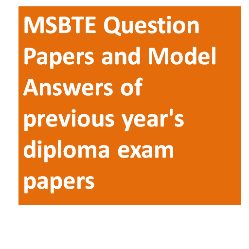 MSBTE Model Answers and Question Papers