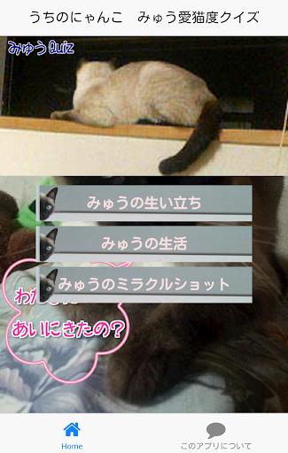ねこ検定forみゅう愛猫度クイズ無料ネコの気持ちがわかる!