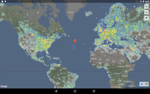 Dark Sky Map Android Apps On Google Play - Dark sky map