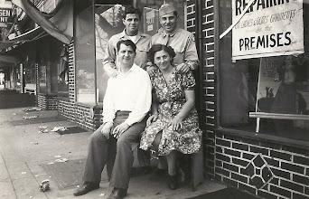 Photo: Leo and Harold Sternbach (Top), Salo and Frieda Brunn (Bottom)