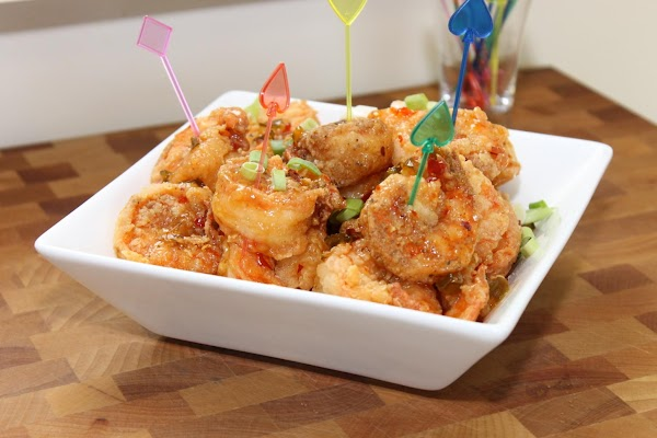 Step 3To Serve, first place shrimp in a large bowl and add Thai Sweet...