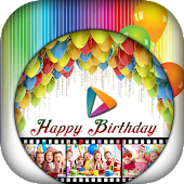Birthday Video Maker - Slideshow Maker with Music