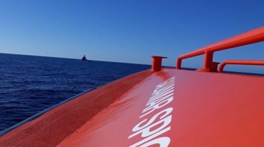 Ya son 19 las personas rescatadas tras el naufragio de otra patera en Carboneras