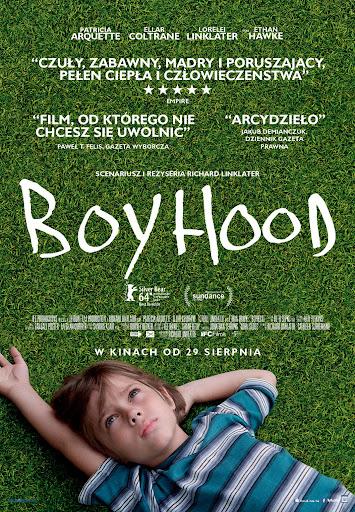 Polski plakat filmu 'Boyhood'